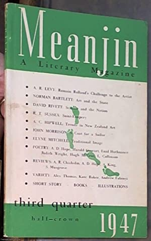 Meanjin Papers: A Literary Magazine, Volume 4,: Christensen, C. B.