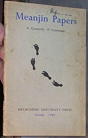 Meanjin Papers: A Quarterly of Literature: volume: Christensen, C. B.