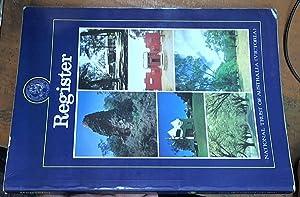 National trust register (at June 1985): National trust of