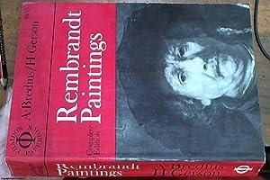 Rembrandt Paintings: Borenius, Professor T.