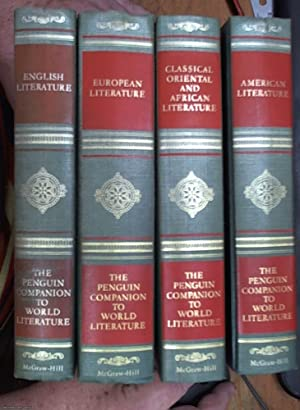 The Penguin Companion to World Literature 4 Vols., Classical Oriental and African Literature & En...