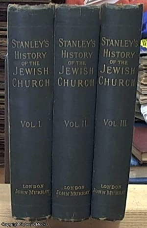 Lectures on the History of the Jewish: Stanley, Arthur Penrhyn