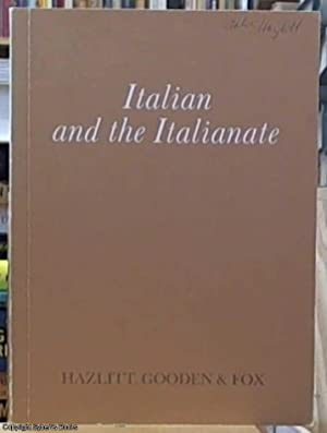 Italian and the Italianate 20 June to: Baer, Jack