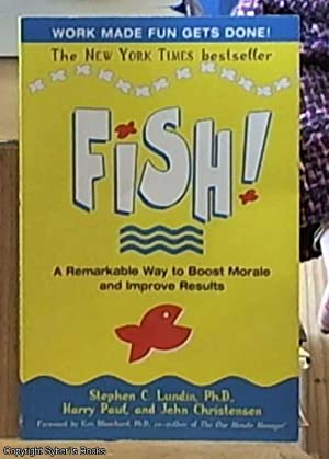 Fish - a remarkable way boost morale: Paul, Harry &