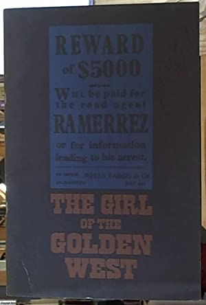 The Girl of the Golden West (La: Puccini, Giacomo