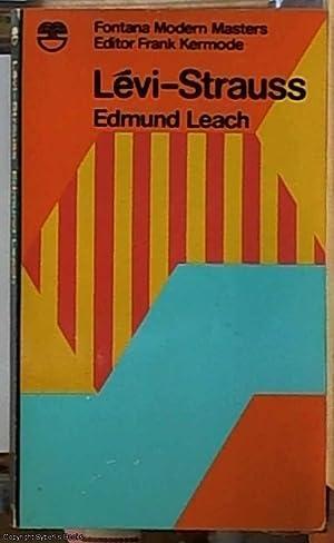 Levi-Strauss (Fontana Modern Masters): Leach, Edmond