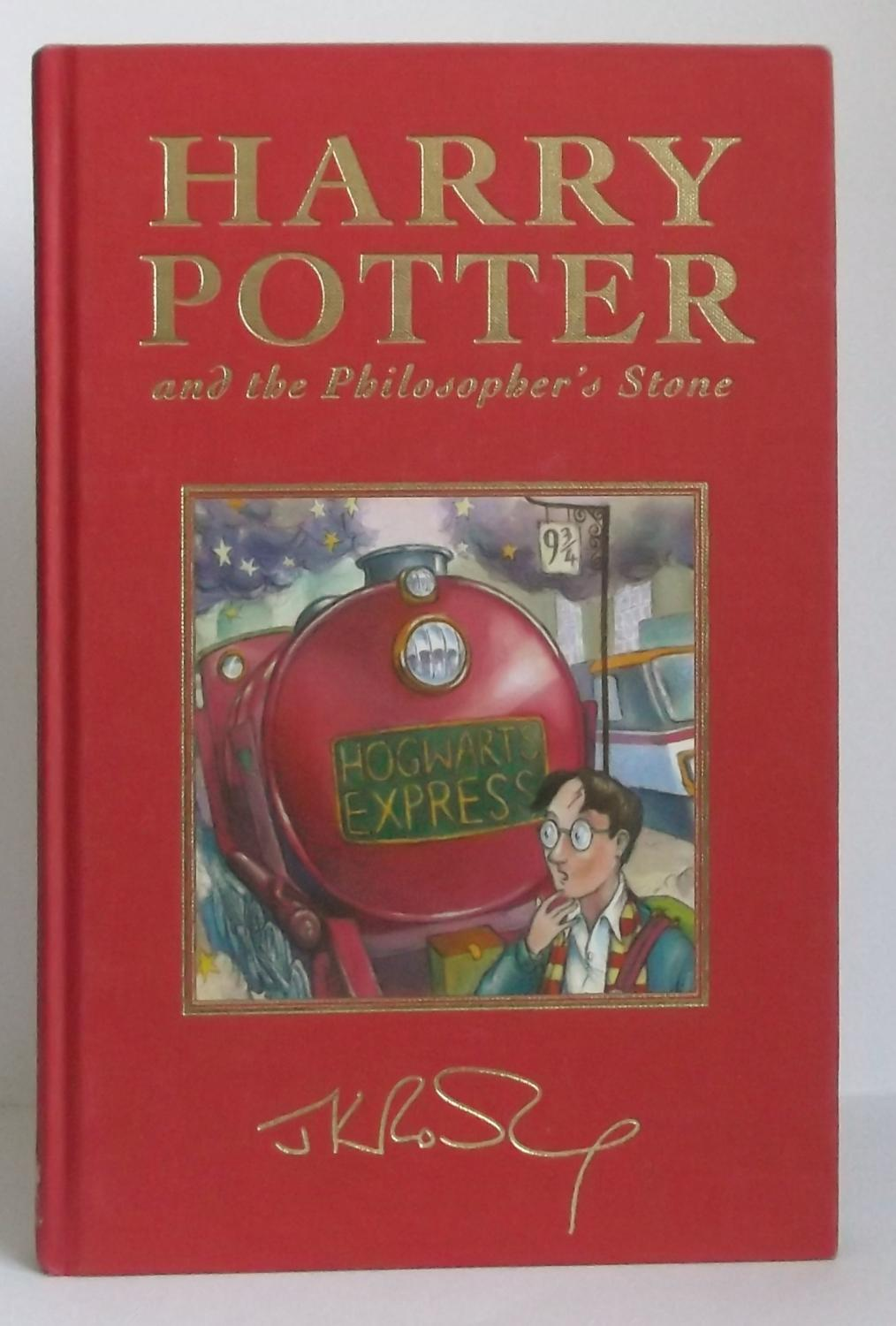 Harry Potter And The Philosopher S Stone J K Rowling 1st Collectors Edition