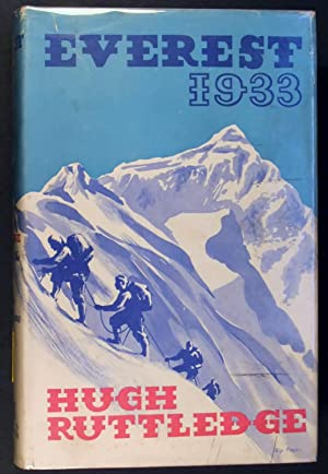 EVEREST 1933 1st Popular Edition: HUGH RUTTLEDGE
