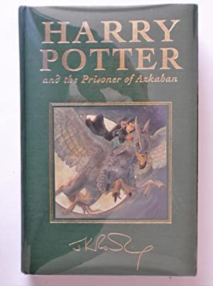 HARRY POTTER AND THE PRISONER OF AZKABAN.: J.K.ROWLING. SPECIAL SIGNED
