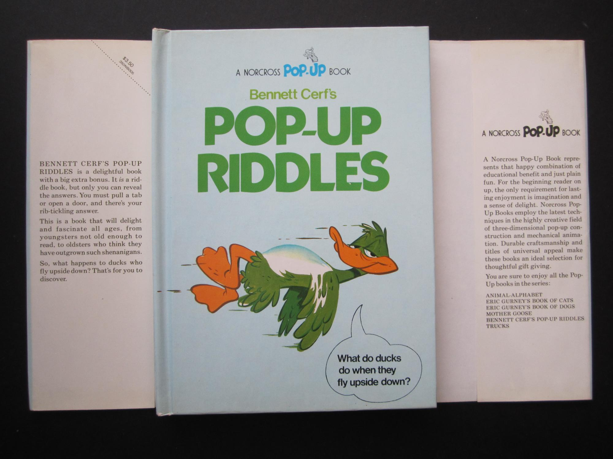 Bennett Cerf's Pop-Up Riddles