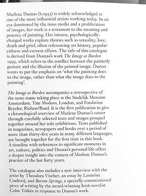 The Image as Burden: Dumas, Marlene