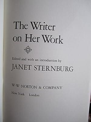 The Writer on Her Work: Sternberg, Janet