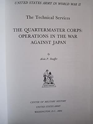 United States Army in World War II, The Technical Services, The Quartermast Corps: Operations in ...