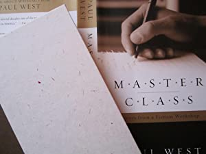 Master Class: Scenes from a Fiction Workshop: West, Paul