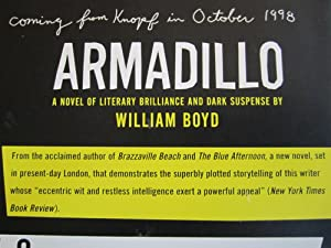 Armadillo: A Novel [ARC]: Boyd, William