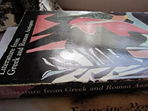 Literature from Greek and Roman Antiquity: Miller, James E. Jr., O'Neal, Robert, and McDonnell, ...