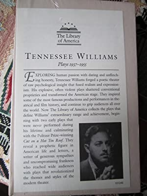 Tennessee Williams: Plays 1937-1955: Williams, Tennessee