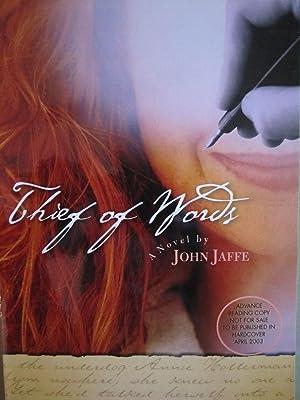 Thief of Words [ARC]: Jaffe, John