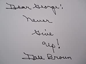 Dale Brown's Memoirs From LSU Basketball [SIGNED]: Brown, Dale