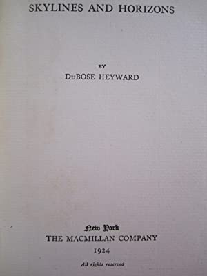Skylines and Horizons: Heyward, Du Bose