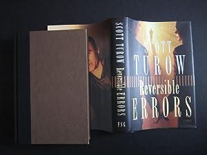 Reversible Errors [SIGNED]: Turow, Scott