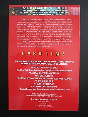 Hard Time [ARC]: Paretsky, Sara