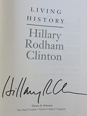 """living history by hillary rodham clinton This guide may not be reprinted or resold for commercial purposes hillary rodham clinton: a woman living history was written by karen blumenthal and published by feiwel & friends / scholastic book synopsis """"as a young girl, hillary diane rodham's parents told her she could be whatever she wanted - as long as."""