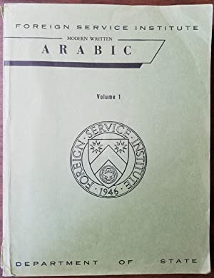 Modern Written Arabic Volume 1