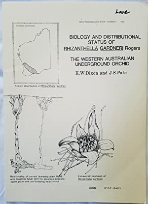 Biology and Distributional Status of Rhizanthella Gardneri Rogers - The Western Australian Underg...