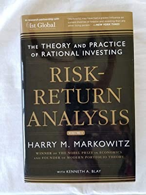 Risk-Return Analysis: The Theory and Practice of: Markowitz, Harry M.