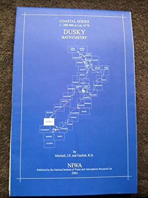 Dusky Bathymetry - NIWA Chart Coastal Series 1:200,000 at Lat. 41S