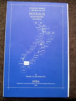 Foveaux Bathymetry - NIWA Chart Coastal Series 1:200,000 at Lat. 41S