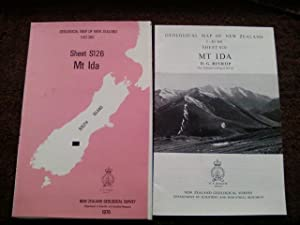 Mt. Ida - Geological Map of New Zealand 1:63,360 Sheet S126
