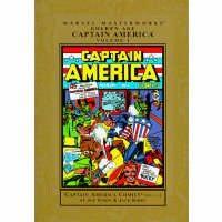 Marvel Masterworks Golden Age Captain America Comics 1: Simon, Joe