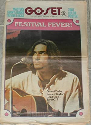 Go-Set. January 9, 1971. Volume 6, Number 2. (James Taylor cover)