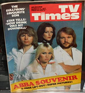TV Times (Melbourne): March 5-11, 1977. Abba Souvenir