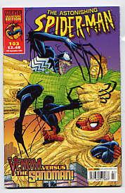 THE ASTONISHING SPIDER-MAN NO 103(10th SEPT 2003): Marvel Collector's Edition Various