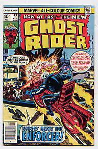 GHOST RIDER No 22(February 1977): Nobody Beats the Enforcer! GERRY CONWAY, DON GLUT