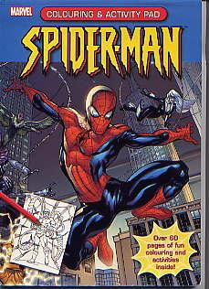 SPIDER-MAN COLOURING AND ACTIVITY PAD Unknown