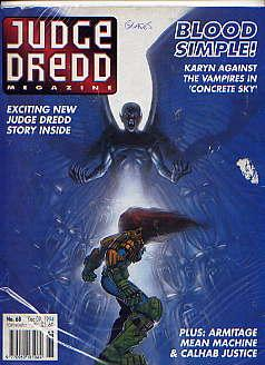 JUDGE DREDD MEGAZINE VOLUME 2 NO 68(DEC: JOHN WAGNER, ALAN