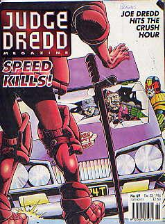 JUDGE DREDD MEGAZINE VOLUME 2 NO 69(: JOHN WAGNER, ALAN