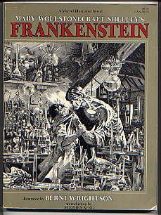 FRANKENSTEIN or THE MODERN PROMETHEUS(A MARVEL ILLUSTRATED: MARY WOLLSTONECRAFT SHELLEY(AUTHOR),