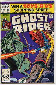 GHOST RIDER Vol 1 No 49(October 1980): MICHAEL FLEISHER