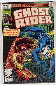 GHOST RIDER VOL 1 NO 51(DEC 1980): MICHAEL FLEISHER