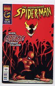 THE ASTONISHING SPIDER-MAN NO 101(16TH JULY 2003): HOWARD MACKIE