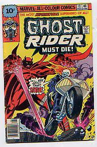 GHOST RIDER No 19(August 1976): Resurrection: TONY ISABELLA