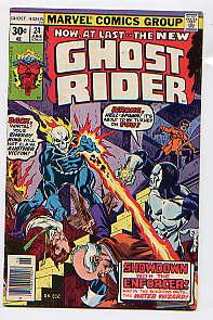 GHOST RIDER No 24(JUNE 1977): I, The: GERRY CONWAY, DON