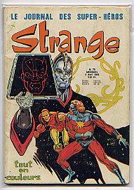 STRANGE ISSUES 76-77(APRIL-MAY 1976): LE JOURNAL DES: STAN LEE, GERRY