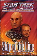 SHIP OF THE LINE(STAR TREK THE NEXT GENERATION)