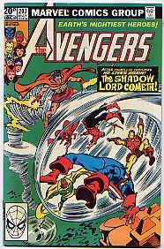 The Avengers Volume 1 Issue 207-208(May-June 1981): BOB BUDIANSKY, Danny